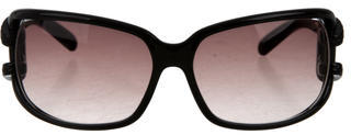 Jimmy Choo Jimmy Choo Logo-Embellished Gradient Sunglasses