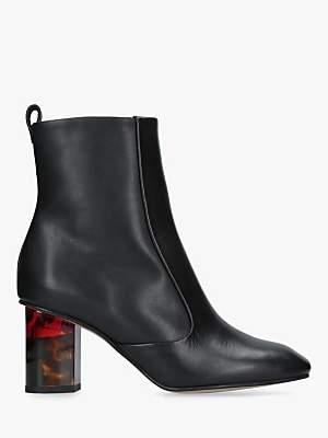 a13492e3a00 Kurt Geiger London Stride 70 Contrast Heel Ankle Boots
