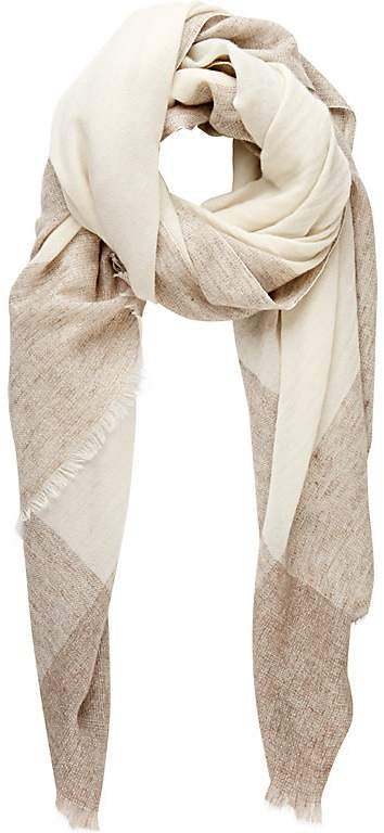 Barneys New York Women's Bordered Oversize Scarf
