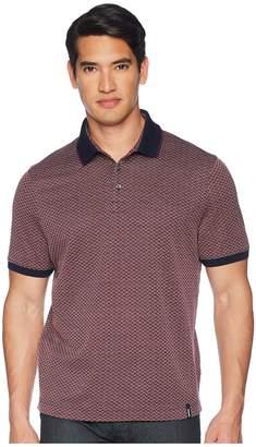 Vilebrequin Caine Jacquard Standard Polo Men's Short Sleeve Pullover