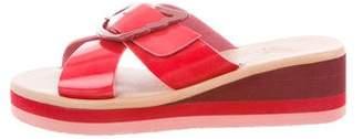Ancient Greek Sandals Thais Rainbow Wedges w/ Tags