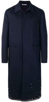 Valentino studded longline coat