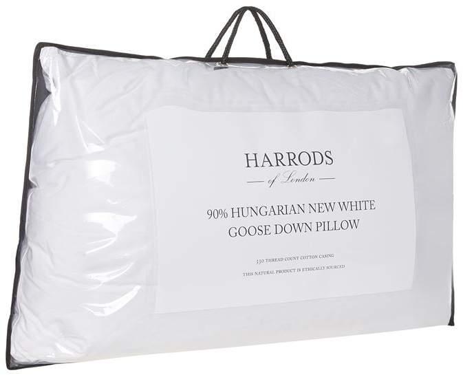 90% Hungarian Goose Down Pillow (Medium/Firm)