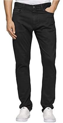 Calvin Klein Jeans Men's Slim Straight Stretch Sateen Pant
