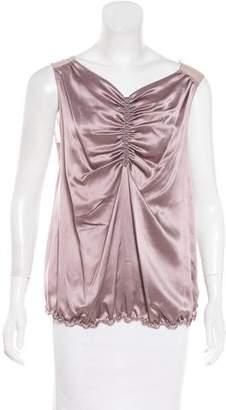 Nina Ricci Silk-Blend Top