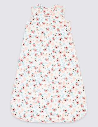 Marks and Spencer Cotton Floral Print Sleeping Bag