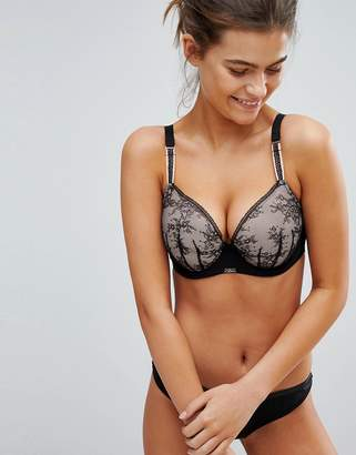 Ultimo Myriam Plunge Lace Fuller Bust Bra DD-G Cup