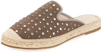 Lfl By Lust For Life Ignite Suede Stud Espadrille Mule