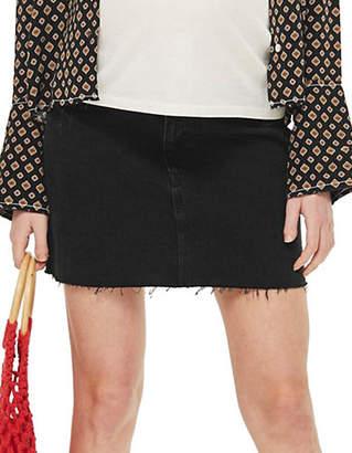 Topshop MATERNITY Washed Denim Skirt