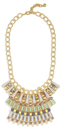 Women's Baublebar Contessa Bib Necklace
