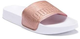 Puma Leadcat Logo Slide Sandal