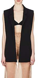 Maison Margiela Women's Open-Front Vest-Black