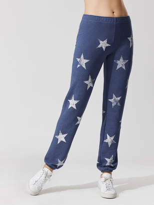 Oversized Star Elastic Waist Sweats