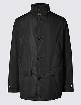 M&S Collection Detachable Collar Mac with StormwearTM
