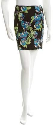 Elizabeth and James Patterned Knee-Length Skirt