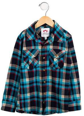 Appaman Fine Tailoring Boys' Long Sleeve Plaid Shirt w/ Tags