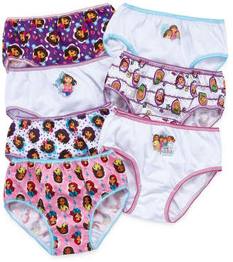 Nickelodeon DORA Dora 7-pk. Brief Panties - Girls
