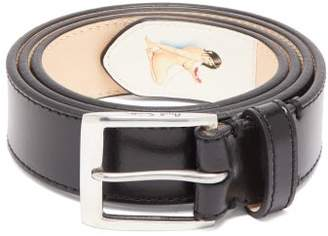 Paul Smith Naked Lady Leather Belt - Mens - Black