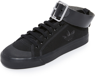 Adidas Raf Simons Spirit Buckle Sneakers $385 thestylecure.com