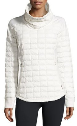 The North Face ThermoBallTM Pullover Jacket, Vaporous Gray $160 thestylecure.com