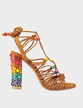 Salvatore Ferragamo Rainbow Glad sandal