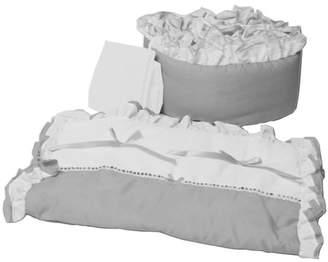 Baby Doll Bedding BabyDoll Bedding Regal Cradle 3 Piece Bedding Set