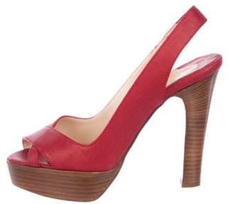 b97dca150a Christian Louboutin Red Platforms - ShopStyle