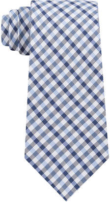 Tommy Hilfiger Men's Mini Gingham Silk Tie