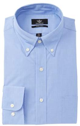 Dockers Non-Iron Fitted Classic Fit Dress Shirt