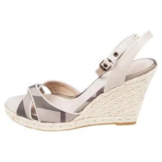 Burberry Cloth sandals