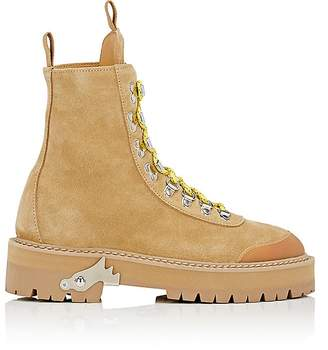 Off-White Women's Suede Hiking Boots