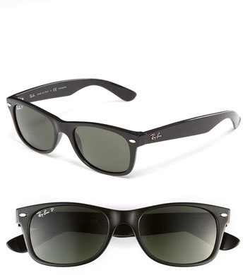 Ray-Ban 'New Small Wayfarer' 52mm Polarized Sunglasses