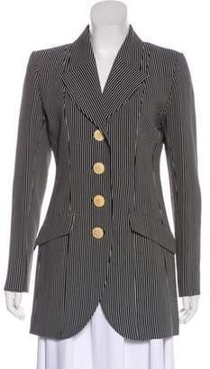Saint Laurent Vintage Striped Coat
