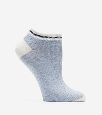 Cole Haan Melange Rib Low Cut Socks