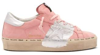 Golden Goose Hi Star Nubuck Trainers - Womens - Light Pink
