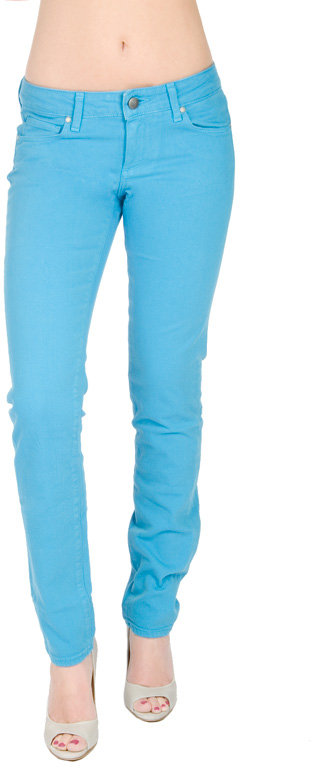 Paige Premium Denim Skyline Ankle Peg Jean In Piscina