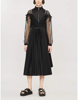 Sacai Hybrid Wool Dress