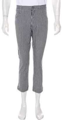 Marni Striped Flat Front Pants