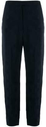 Nina Ricci high waisted jacquard trousers