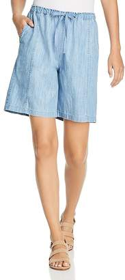Nic+Zoe Passenger Chambray Shorts