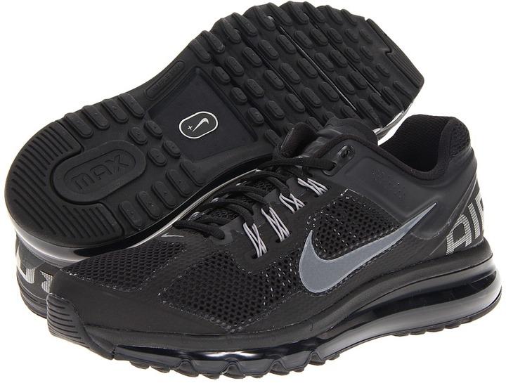 Nike Air Max+ 2013 (Black/Dark Grey) - Footwear