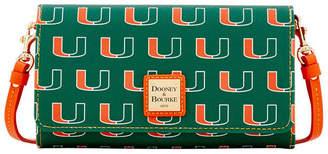 Dooney & Bourke Miami Hurricanes Daphne Crossbody Wallet
