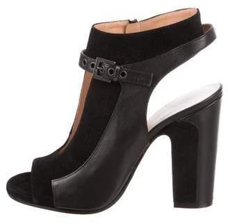 Maison Margiela Cutout Ankle Strap Booties w/ Tags