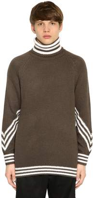 White Mountaineering Adidas Originals By 3stripes Turtleneck Sweater