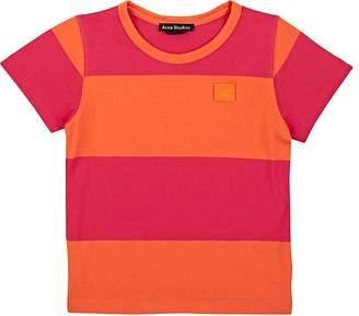 Acne Studios Kids' Mini Nedy Striped Cotton T-Shirt