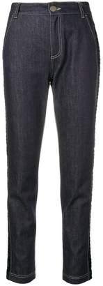 Fendi monogram tapered jeans