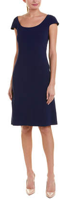 Carolina Herrera Silk-Lined Sheath Dress