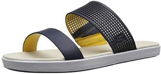 Lacoste Women's Natoy Slide 216 1 Slide Sandal $39.95 thestylecure.com