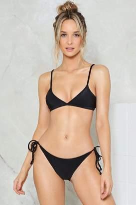 Nasty Gal Alina Mix & Match Triangle Bikini Top