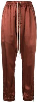 Rick Owens drawstring satin track pants
